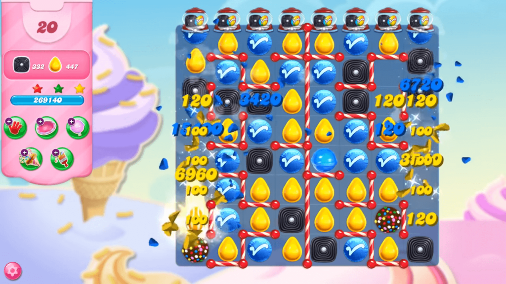 candy crush saga features