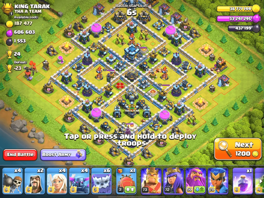 clash of clans game play